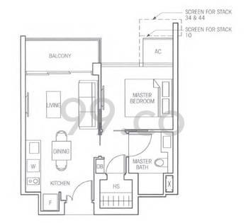 Bartley Residences - Configuration 1a