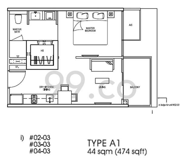 Nin Residence - Configuration A1
