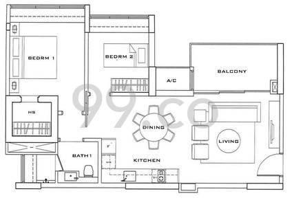 Sophia Residence - Configuration A1