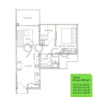 Parc Olympia - Configuration B1