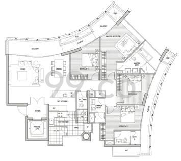 St Thomas Suites - Configuration B