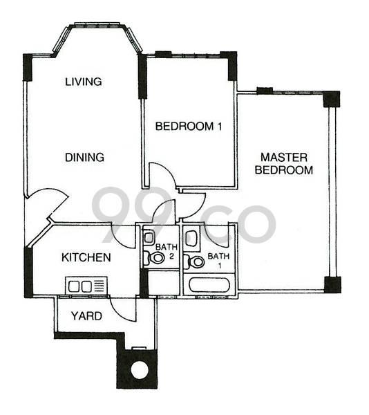 Chiltern Park - Configuration A1