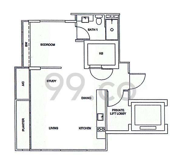 Ola Residences - Configuration A