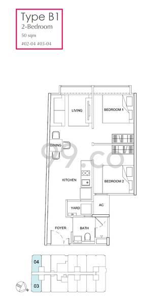 183 Longhaus - Configuration B1
