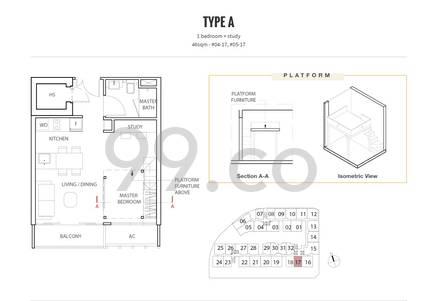 Kap Residences - Configuration A