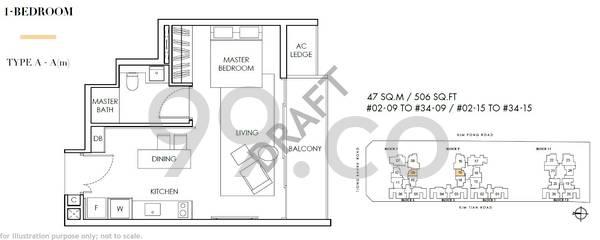 Highline Residences - Configuration A