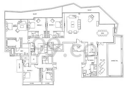 Marina Bay Suites - Configuration P3