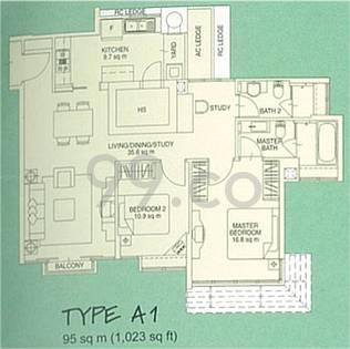 Monterey Park - Configuration A1