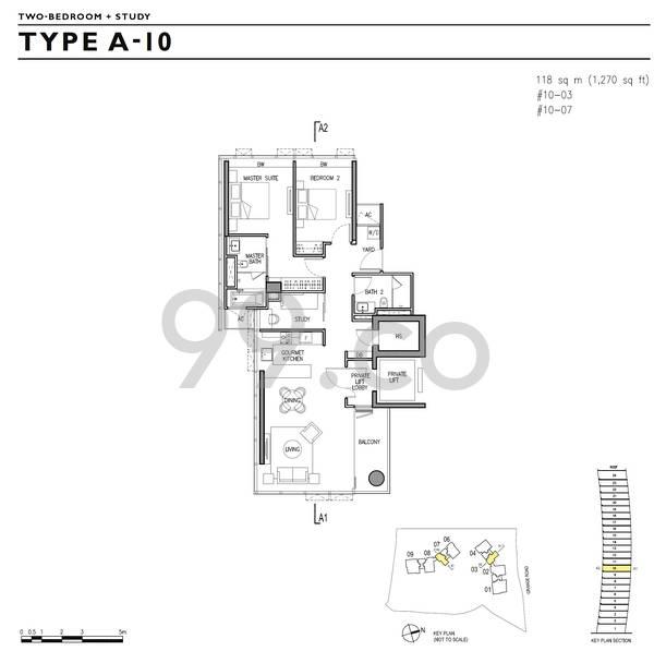 Gramercy Park 格美华庭 - Configuration A10