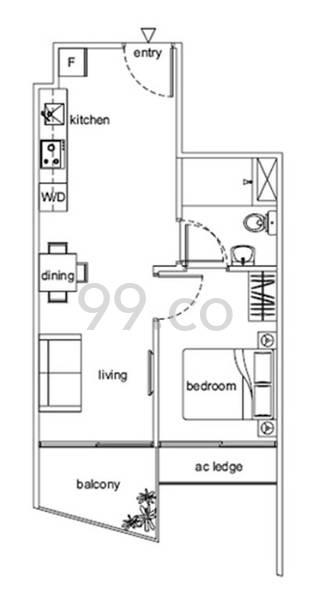Loft @ Rangoon - Configuration A