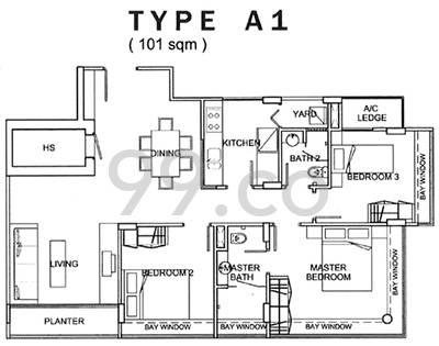 Rosyth Ville - Configuration A1