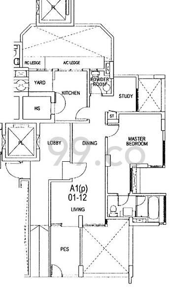 Gardenvista - Configuration A1p