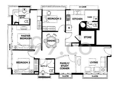 Meya Lodge - Configuration A