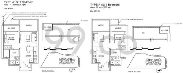 Alex Residences - Configuration A1G