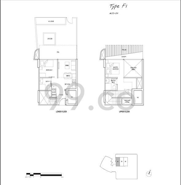 Spottiswoode Suites - Configuration F1
