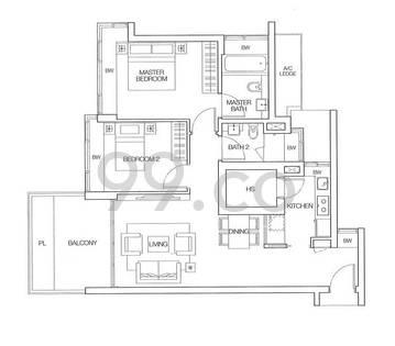 Dakota Residences - Configuration A1