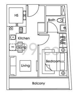 Royce Residences - Configuration B1