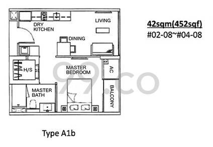 Nin Residence - Configuration A1b