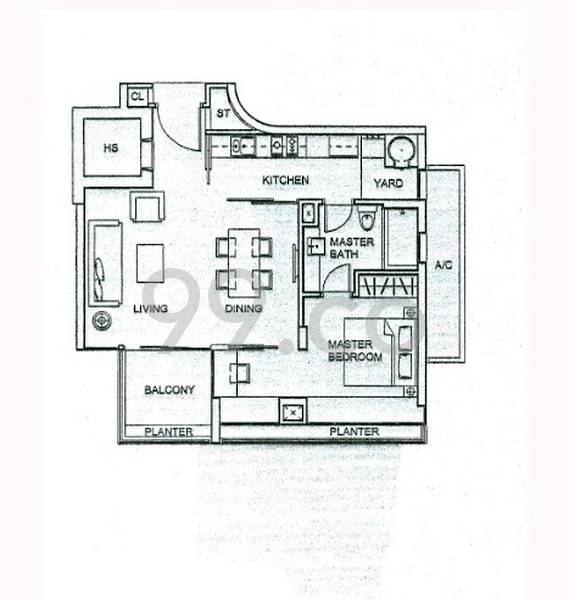 8 @ Mount Sophia - Configuration A1