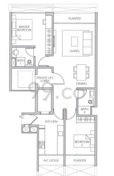Urban Suites - Configuration A