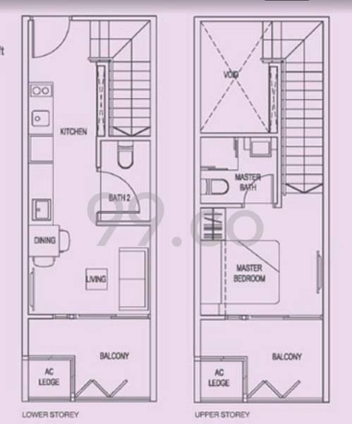 # 1 Suites - Configuration A2