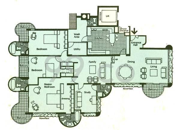 The Balmoral - Configuration B