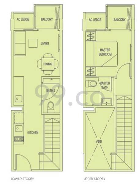 Park 1 Suites - Configuration A1