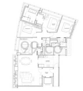St. Regis Residences Singapore - Configuration B41