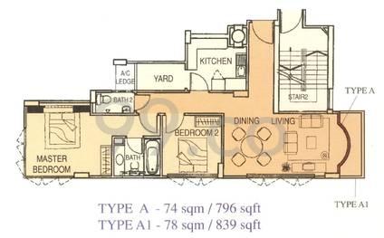 Kasturina Lodge - Configuration A