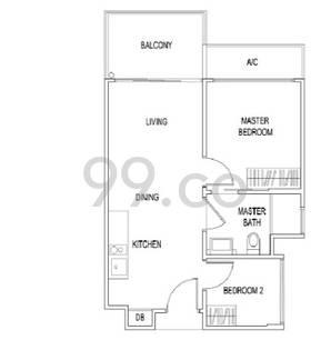 Jade Residences - Configuration A1