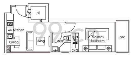 Suites @ Braddell - Configuration A