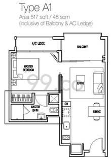 The Miltonia Residences - Configuration A1