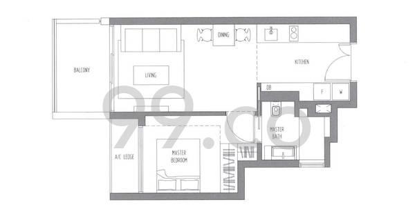 Sennett Residence - Configuration A1