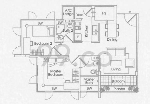 D'chateau @ Shelford - Configuration A