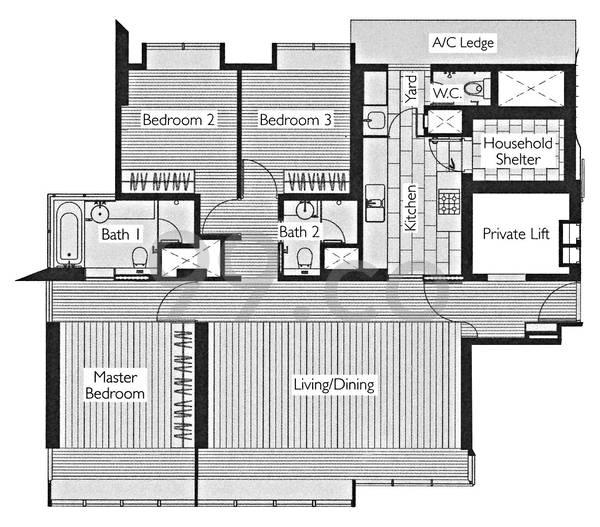 1 Moulmein Rise - Configuration A1