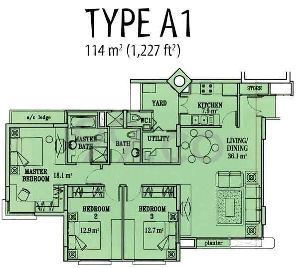 The Florida - Configuration A1