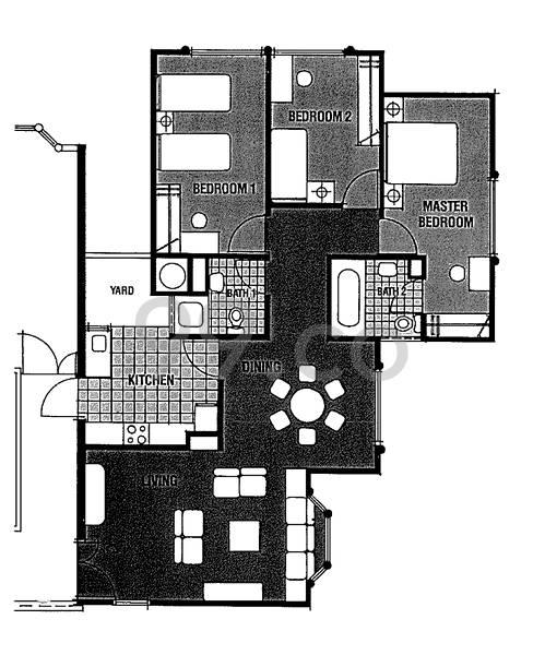 Euro-Asia Apartments - Configuration A