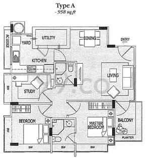 JLB Residences - Configuration A