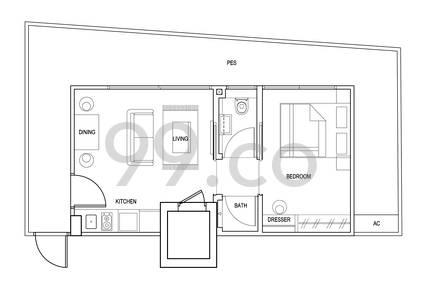 Park Residences Kovan - Configuration A