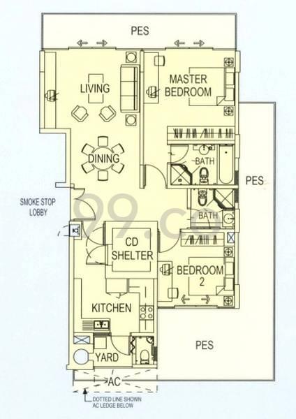 Malvern Springs - Configuration A1