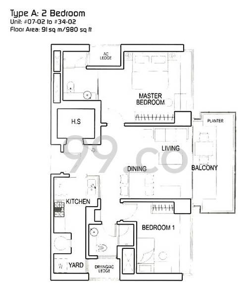 Regency Suites - Configuration A