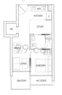 Robinson Suites - Configuration A1