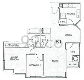 Maplewoods - Configuration B1