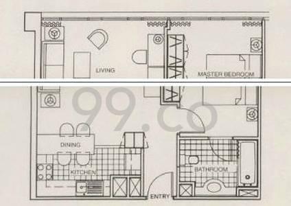 Park Avenue Clemenceau Suites - Configuration D1