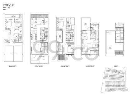 Belgravia Villas - Configuration C1a