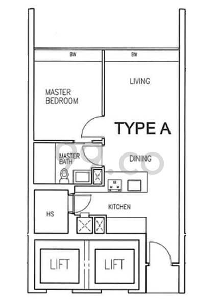 Vista Residences - Configuration A