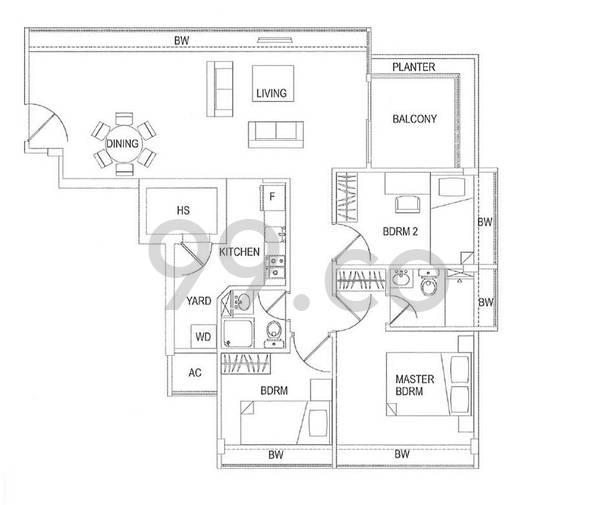 Residences @ Jansen - Configuration a
