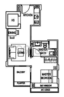 Primo Residences - Configuration A1