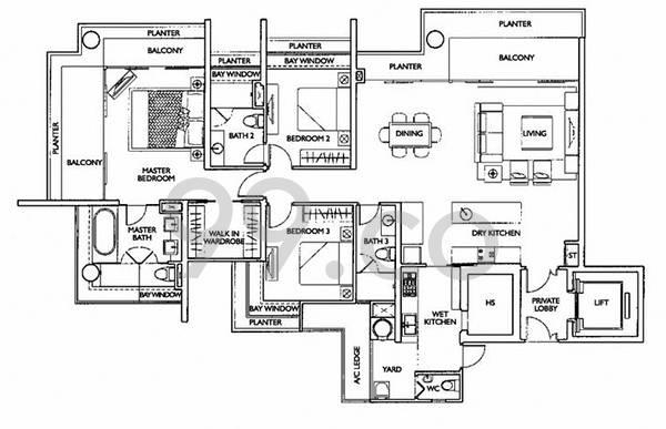 Cityvista Residences - Configuration A1