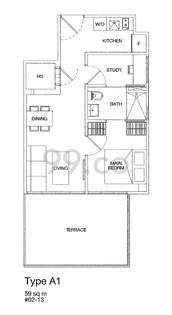 Rv Suites - Configuration A1